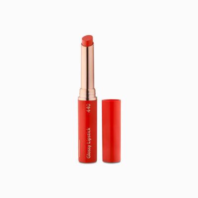 Glossy Lipstick Orange Spice 02