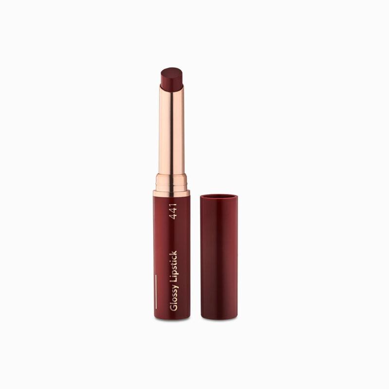 Glossy Lipstick Dark Ruby 441